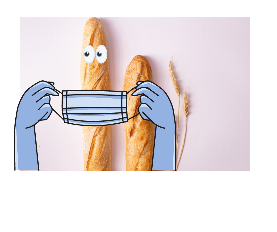 Baguette masquee