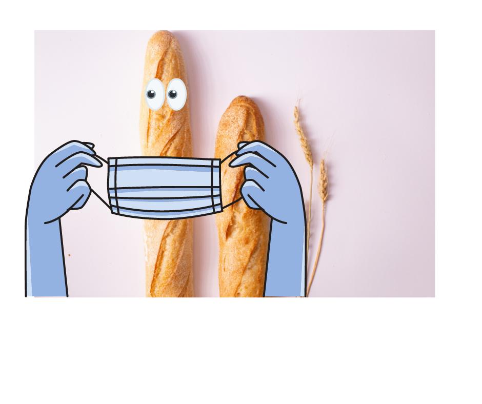 Baguette masquee